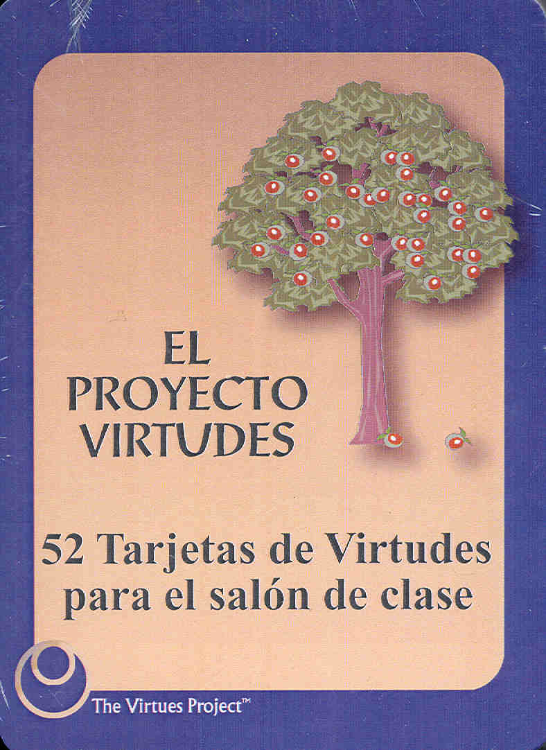 Educator's Virtues Cards - Spanish Edition