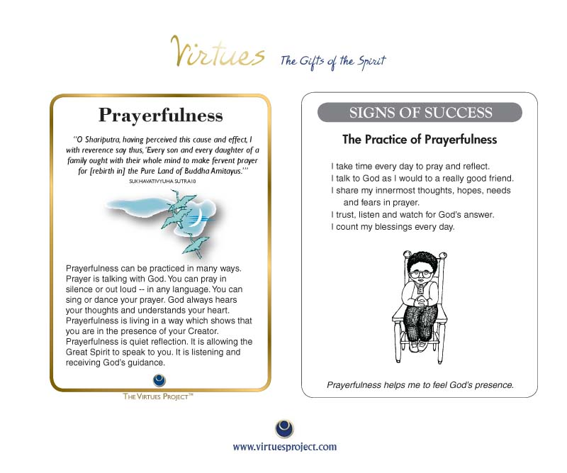 Family Virtues Cards - Buddhist Edition